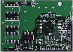 两层PCBban间是用什么连接相通的